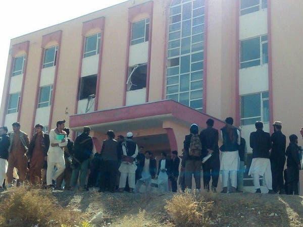 عبوة تنفجر داخل قاعة دراسية في جامعة أفغانية وإصابة 19