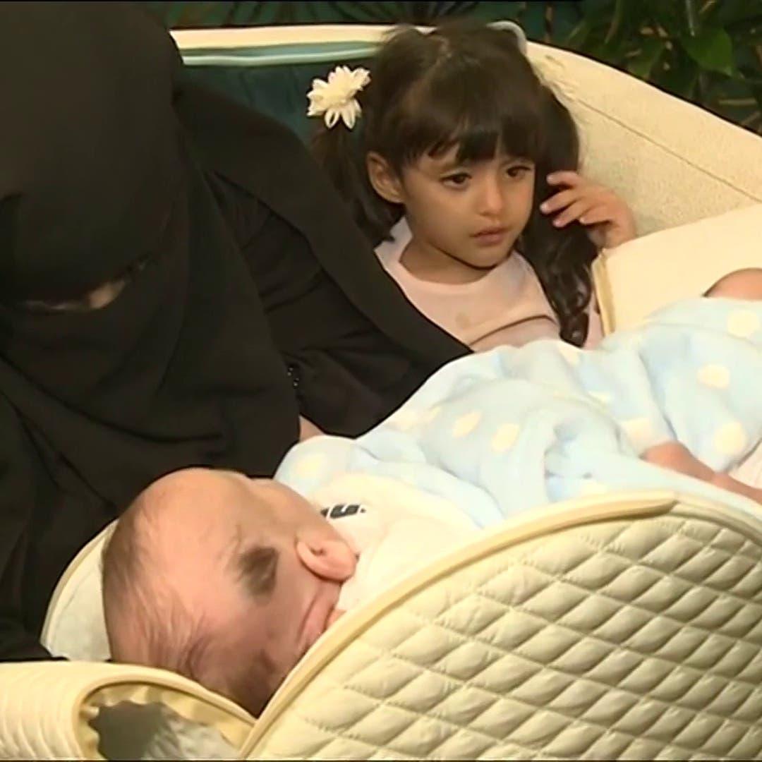 وصول التوأم السيامي الليبي للرياض للنظر في إمكانية فصلهما