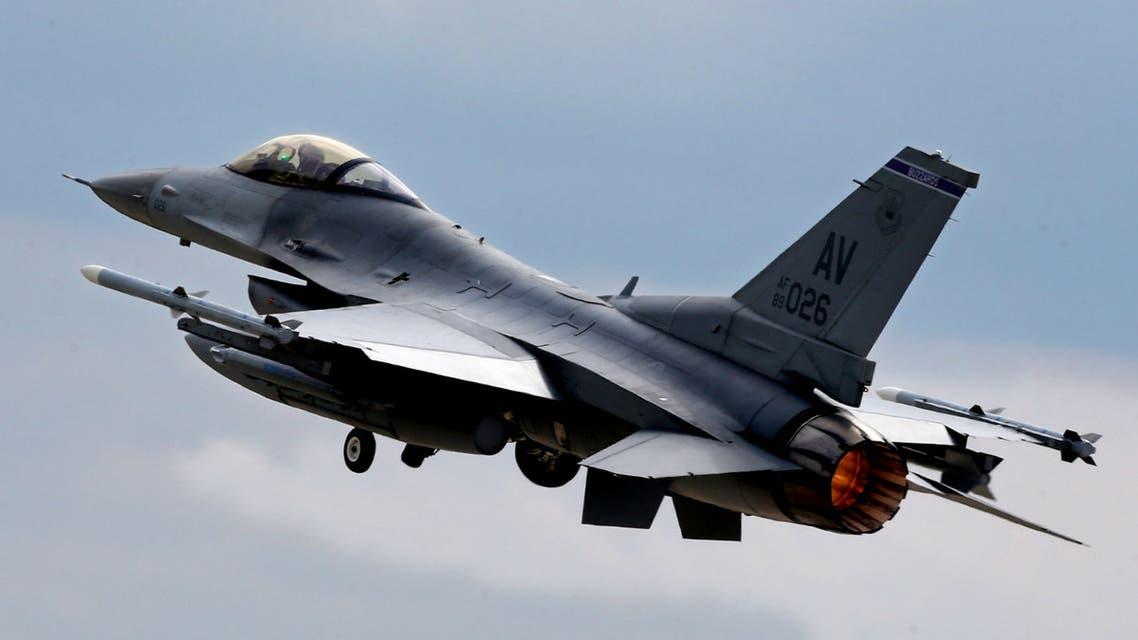 مقاتلة أميركية من طراز اف 16