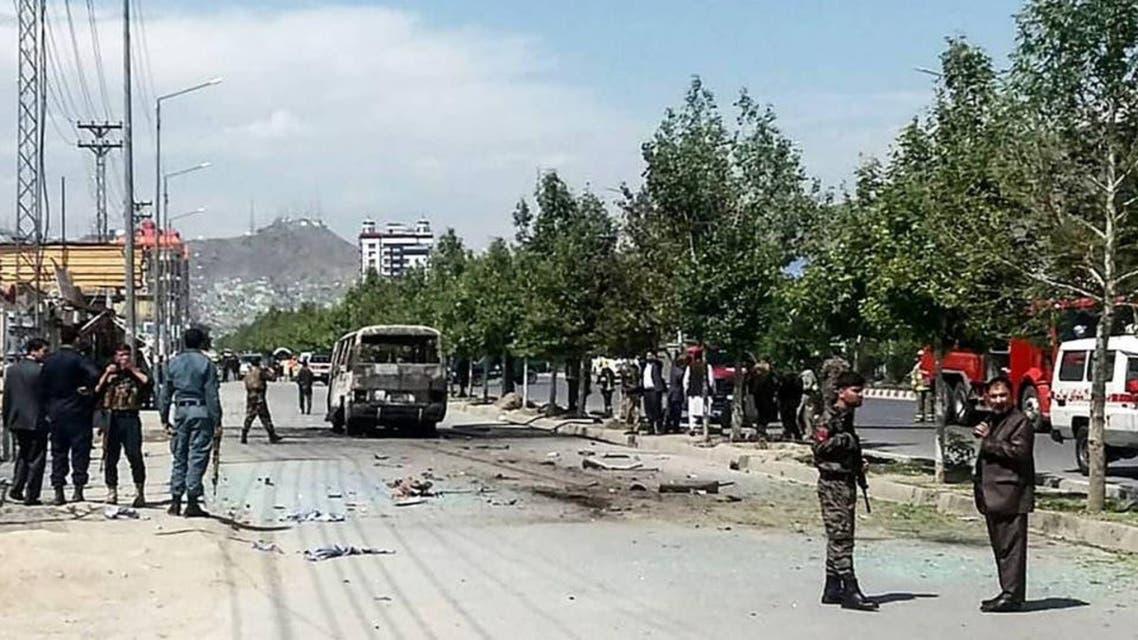 Afganistan Bus attack