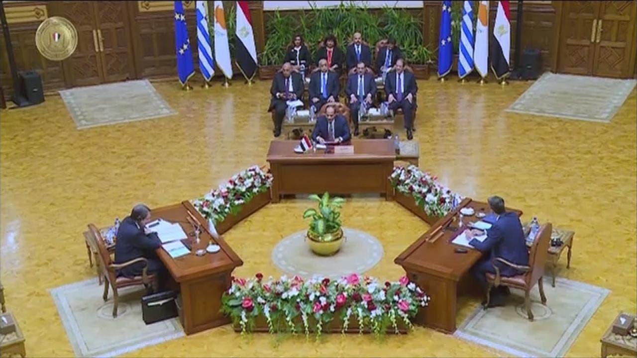 مصر وقبرص واليونان تدين تنقيب تركيا عن الغاز في المتوسط