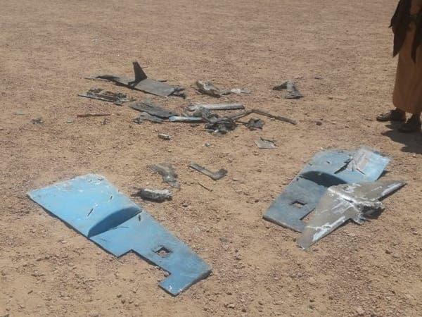 الجيش اليمني يسقط طائرة مسيرة حوثية في الجوف