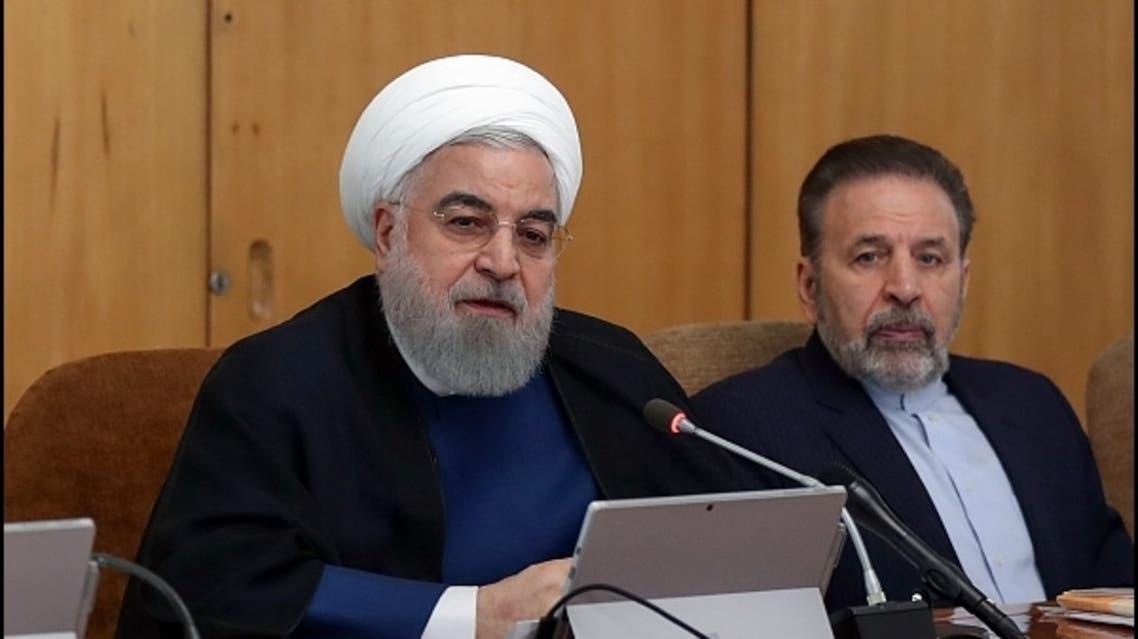 حسن روحاني في اجتماع للحكومة الإيرانية