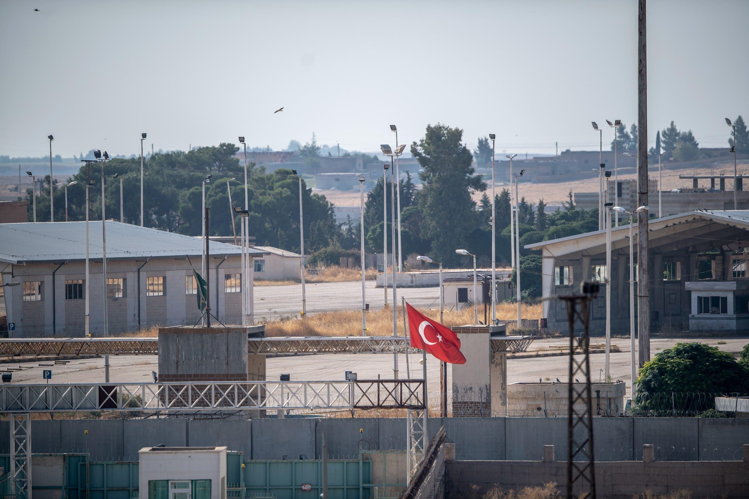 من الحدود التركية السورية (فرانس برس)