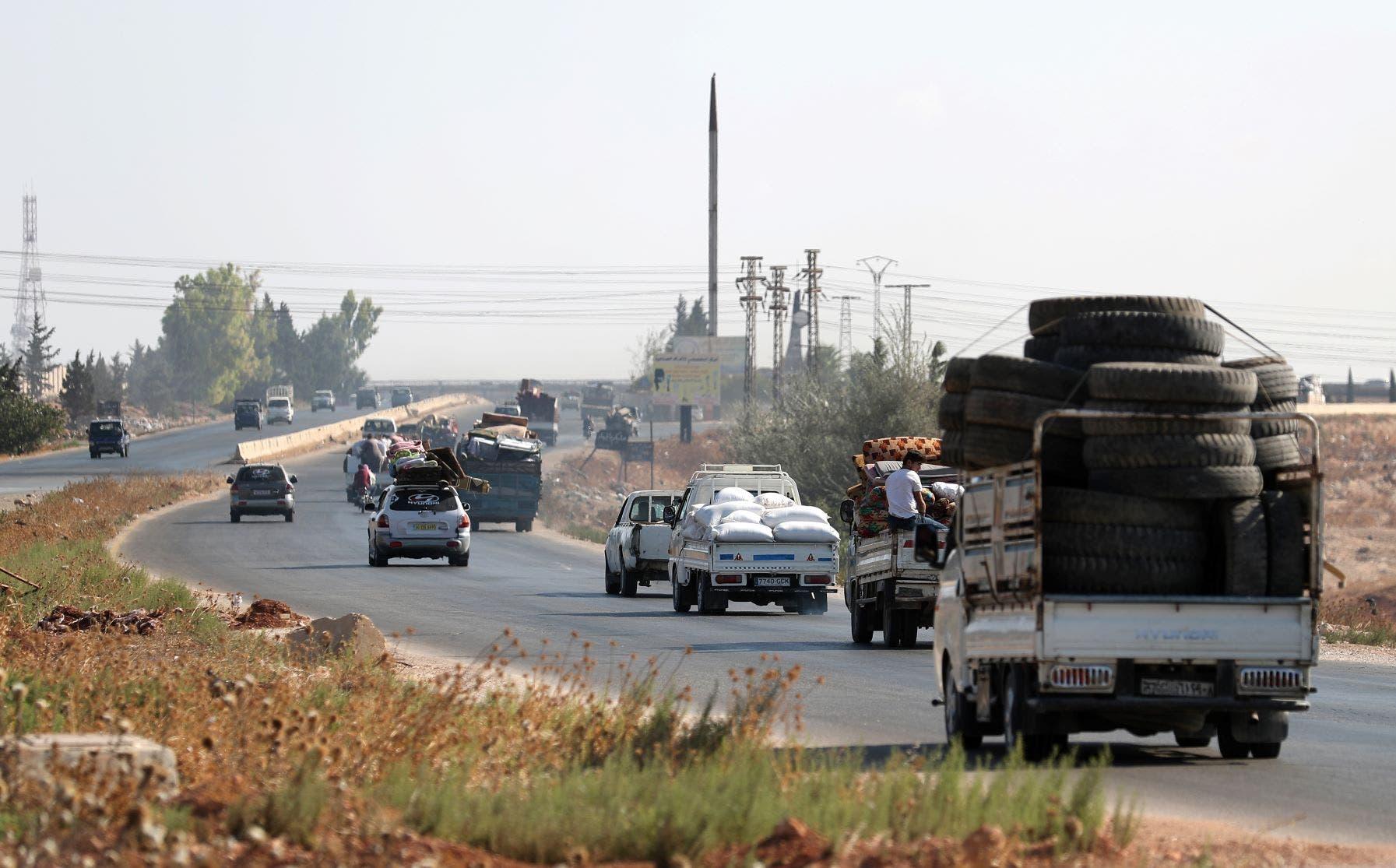 نزوح أهالٍ من شمال شرق سوريا