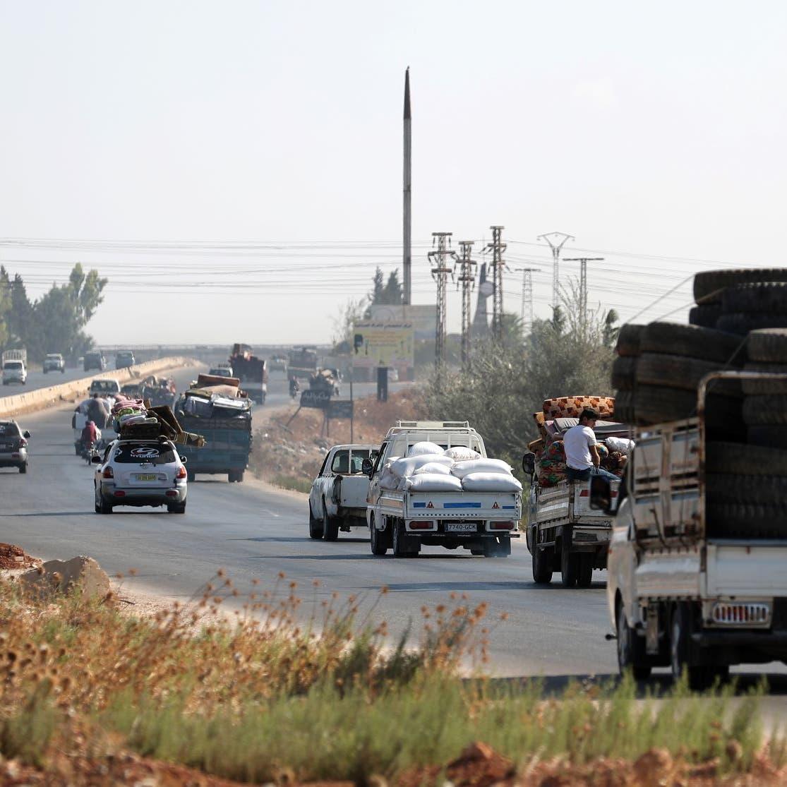 جماعة إغاثية: 260 ألفا نزحوا من شمال غربي سوريا