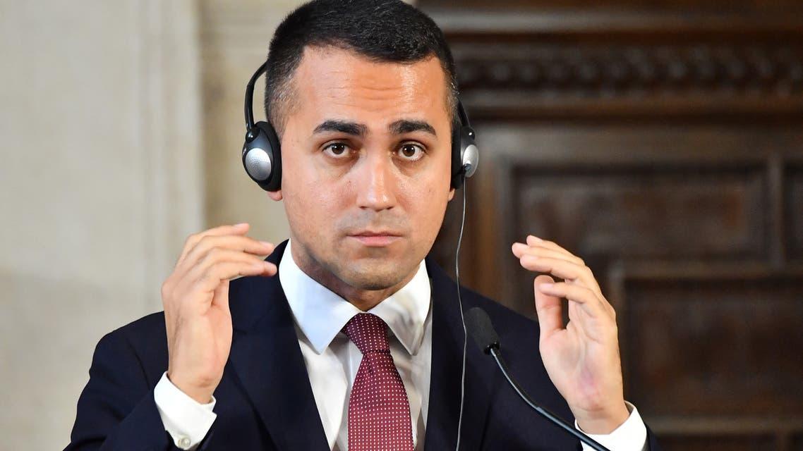 وزير الخارجية الإيطالي Luigi Di Maio لويجي دي مايو