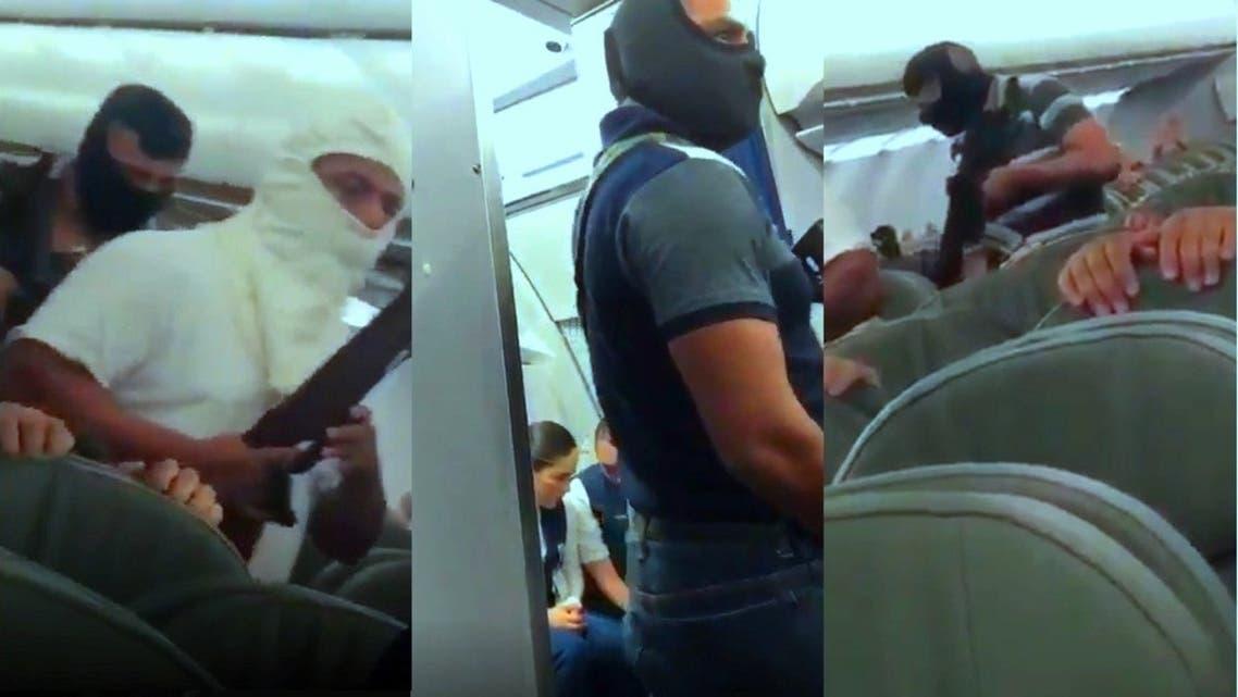 سيطروا على الطائرة و100 راكب فيها