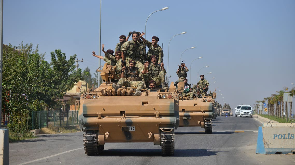 عناصر من الجيش الحر