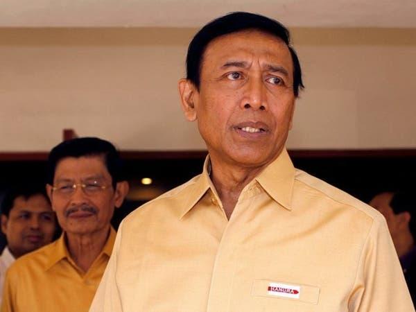 فيديو.. داعشي يطعن وزير الأمن في إندونيسيا