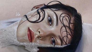 بالصور.. فنانة سعودية تبدع في رسم الوجوه بدقه مذهلة