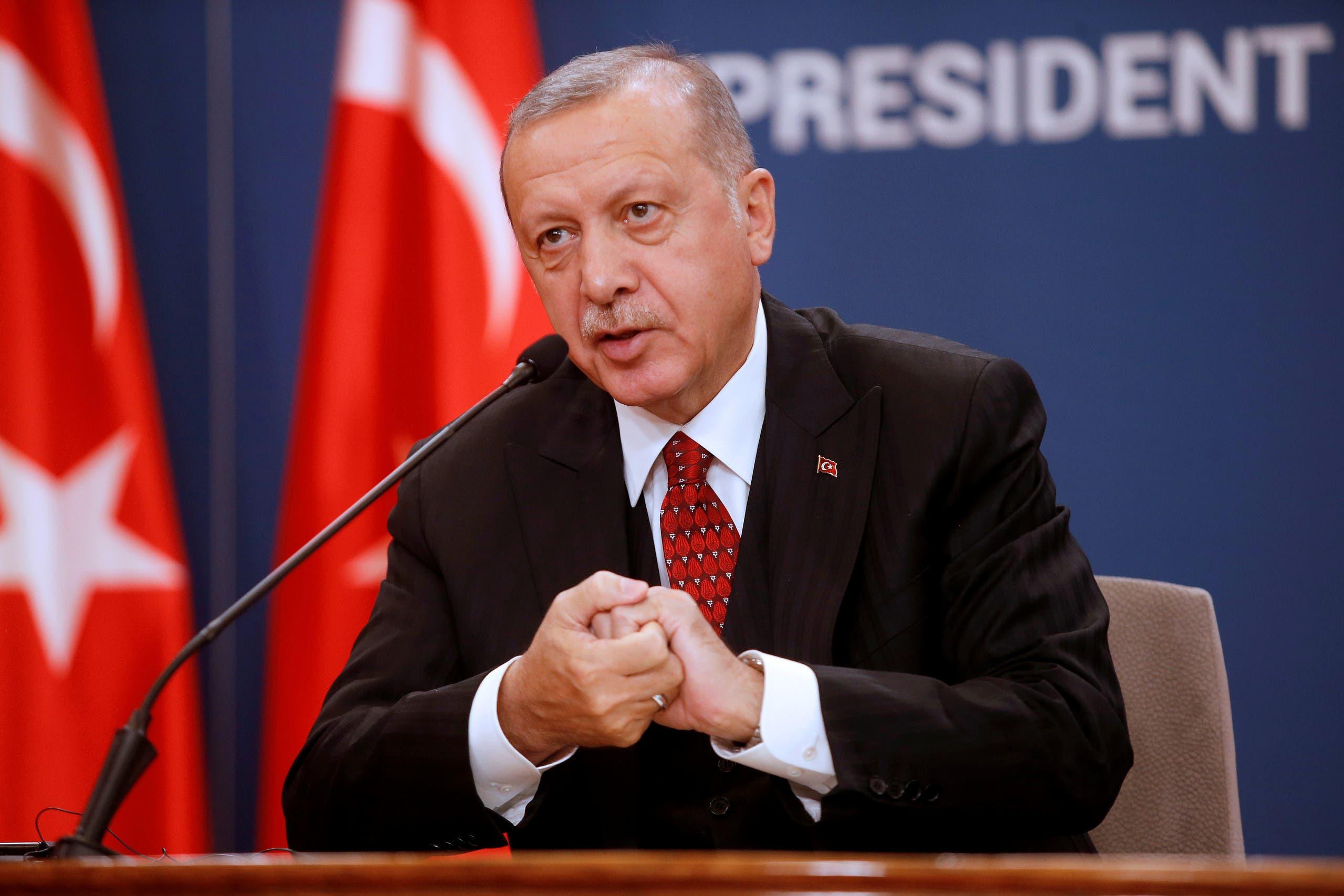 (أردوغان ( رويترز