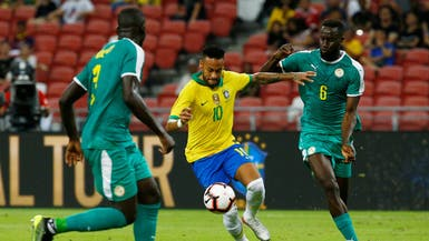 البرازيل تتعادل مع السنغال في المباراة رقم 100 لنيمار
