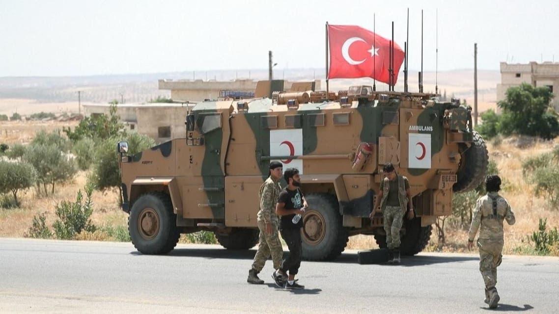 تركيا تدفع بتعزيزات عسكرية جديدة شمال سوريا