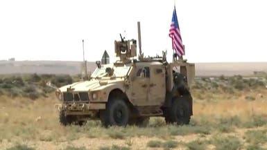 الصور الأولى لتحرك دورية أميركية من 3 مدرعات من عين عيسى باتجاه تل أبيض