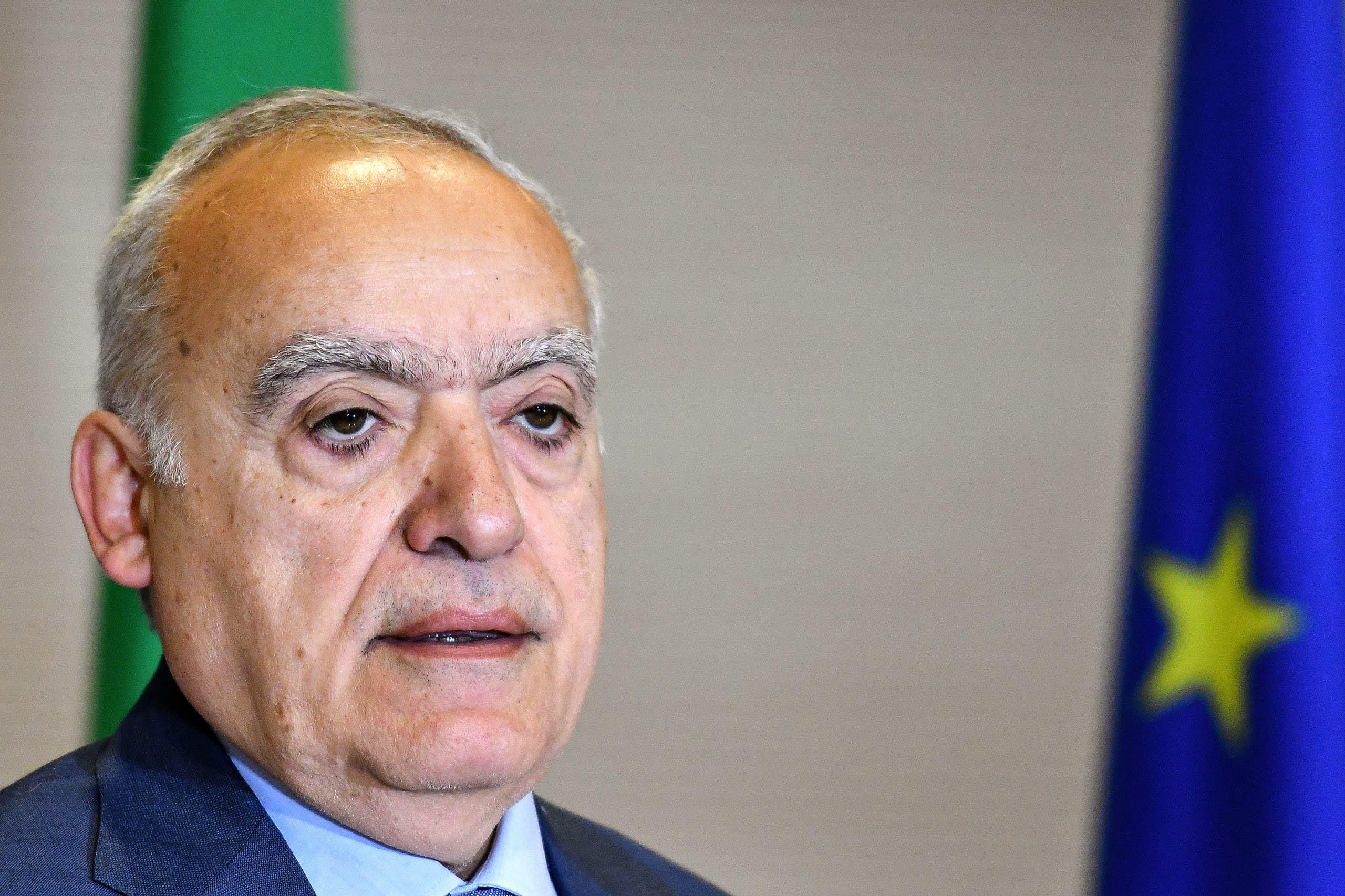 وزير الثقافة السابق غسان سلامة