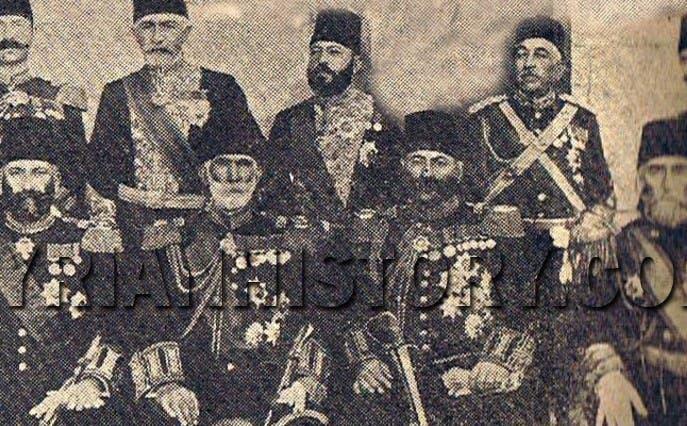من باشوات الدولة العثمانية في سوريا