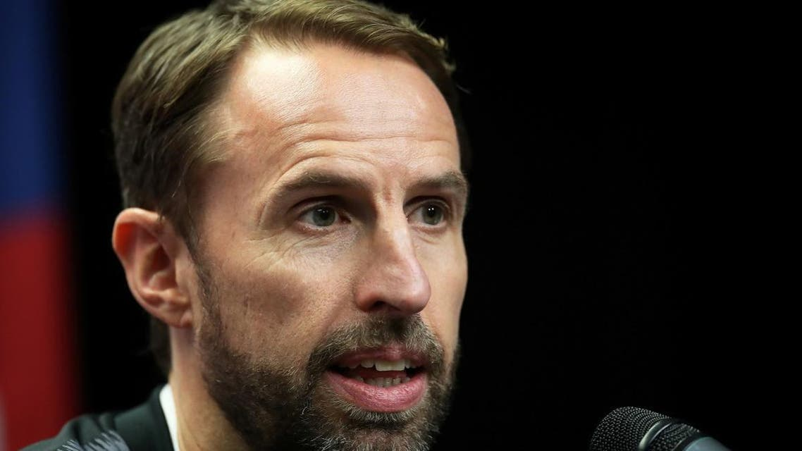 England manager Gareth Southgate during the press conference. (Reuters)