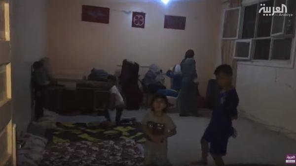 هجوم تركيا.. مشاهد حصرية لنازحين يبيتون في العراء
