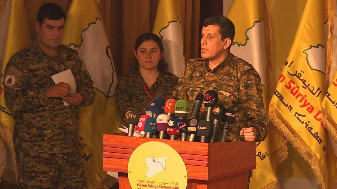 Mazlum Abdi SDF commander AFP