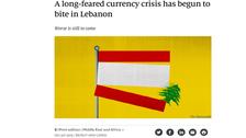 Legal threat against the Economist shows hostility to press freedom in Lebanon