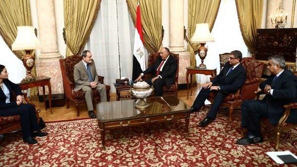في ظل الهجوم التركي.. وفد كردي يلتقي شكري في القاهرة