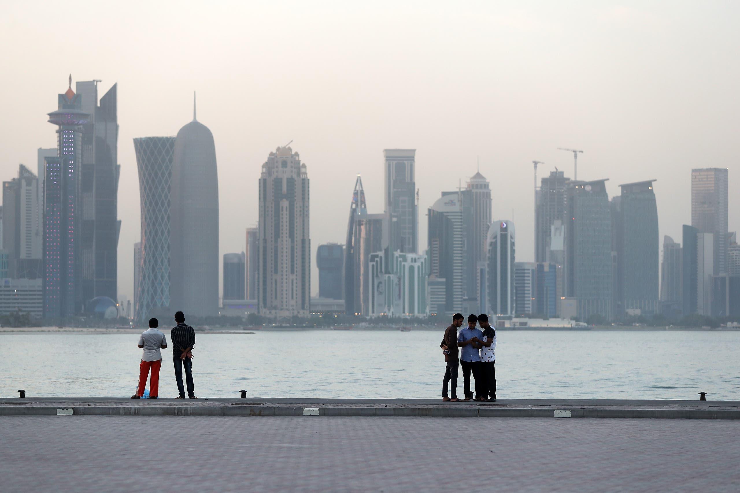 """""""كورنيش"""" الدوحة"""