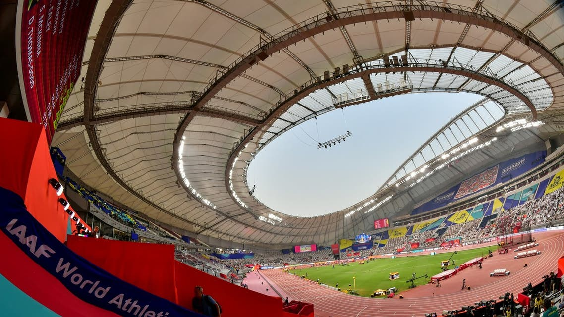 KHALIFA STADIUM QATAR DOHA AFP