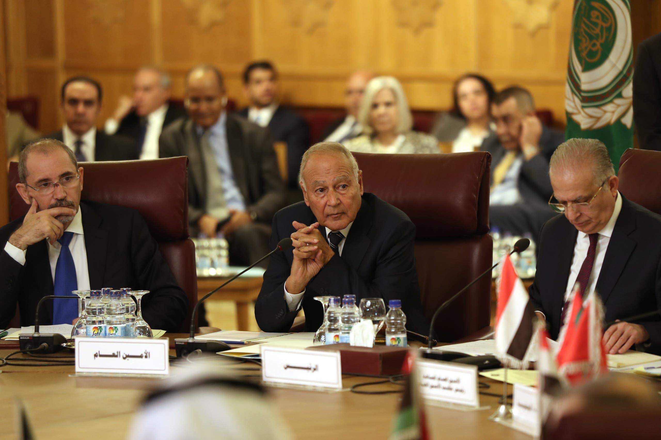 أمين عام جامعة الدول العربية أحمد أبو الغيط