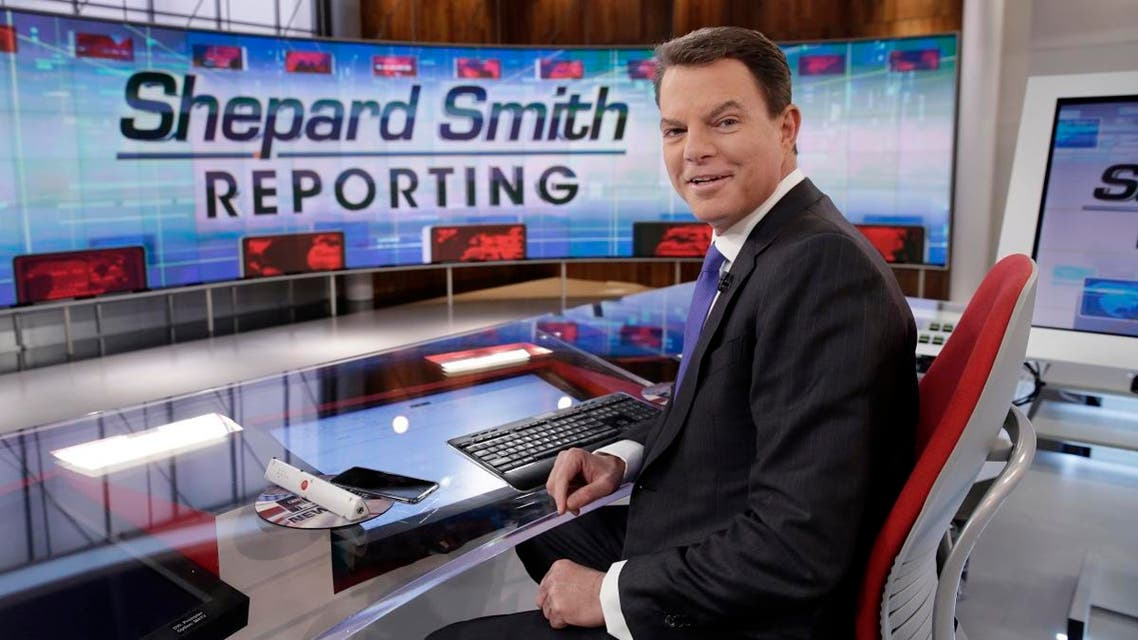 """Fox News Channel chief news anchor Shepard Smith appears on the set of """"Shepard Smith Reporting"""" in New York. (AP)"""