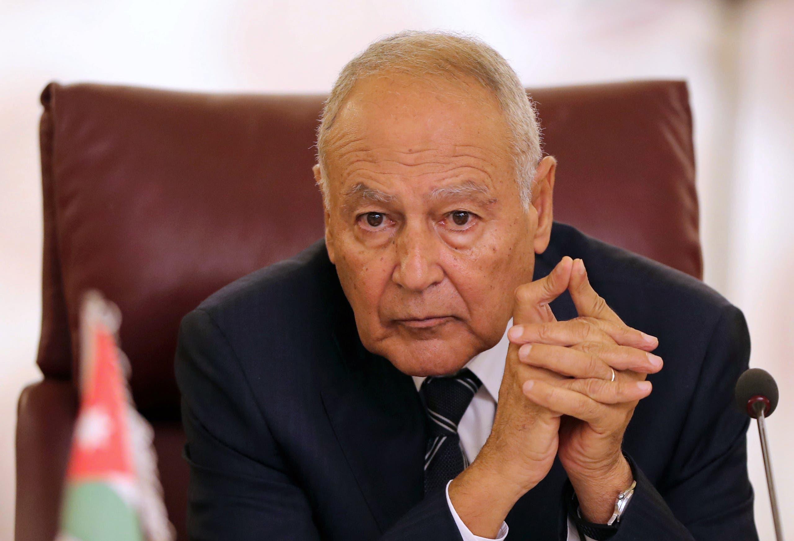 أحمد أبو الغيط أمين عام الجامعة العربية