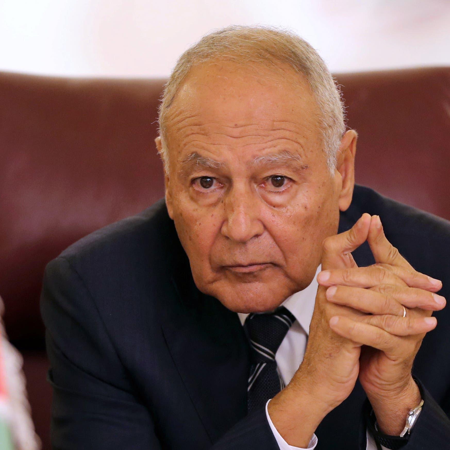 """أبو الغيط عن سد النهضة: أطلق عليه """"سد الخراب"""""""