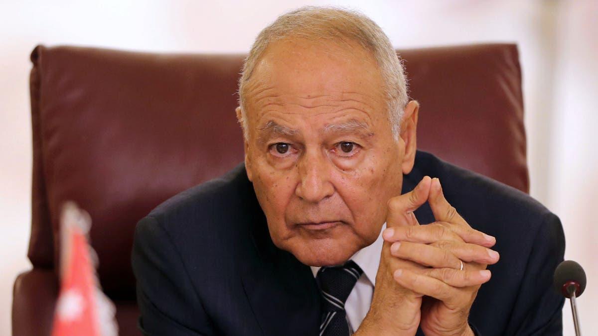 أبو الغيط: كلام وزير خارجية لبنان يفتقر للياقة الدبلوماسية