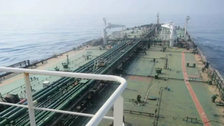 Saudi Arabian Border Guards: Iranian tanker captain says breakage caused leak