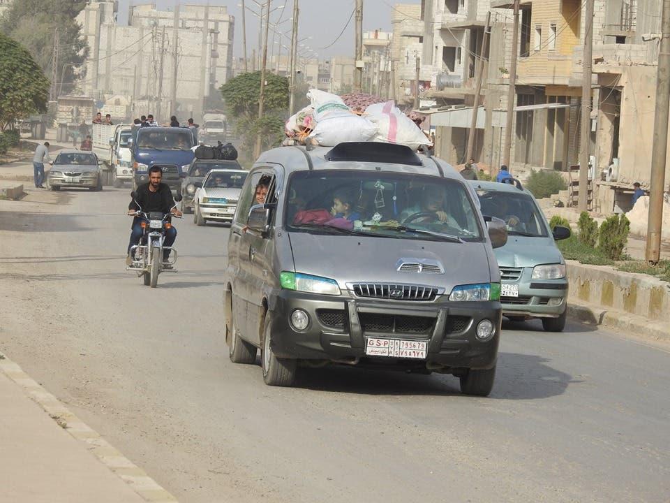 نازحون من بلدات شمال سوريا