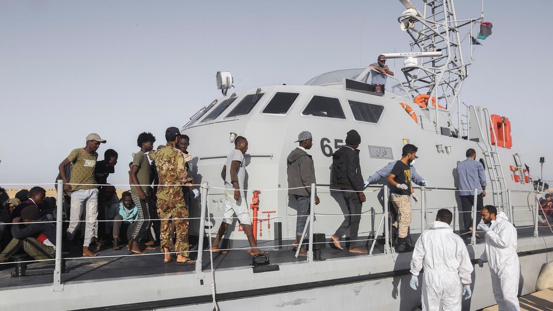 إنقاذ مهاجين في ليبيا (أرشيفية)
