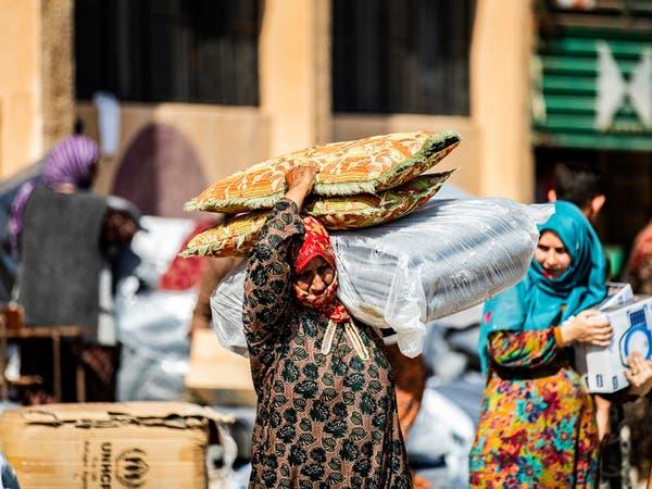حركة نزوح ضخمة تشهدها مدينة الدرباسية في ريف الحسكة