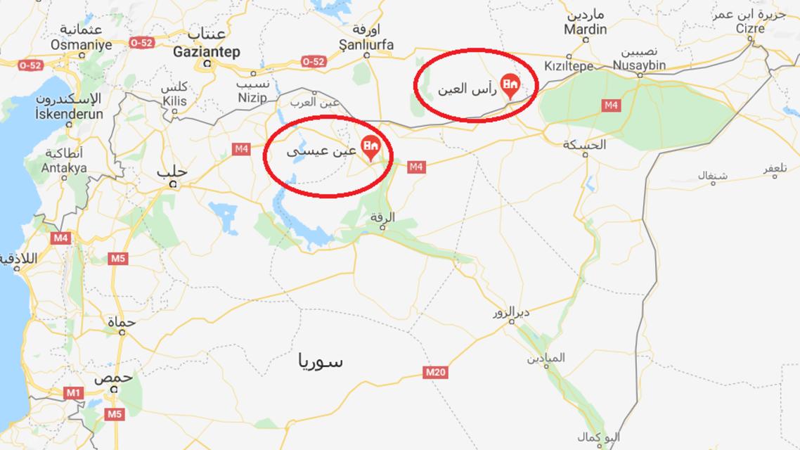 الاشتباكات تتواصل في أطراف مدينة تل أبيض - عين عيسى التابعتان لمحافظة الرقة