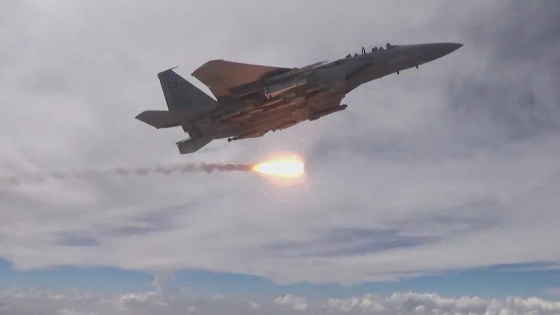 THUMBNAIL_ طيران التحالف يلحق خسائر كبيرة بصفوف الحوثيين في حرض وحجة