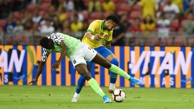 البرازيل تتعادل مع نيجيريا.. ونيمار يخرج مصاباً