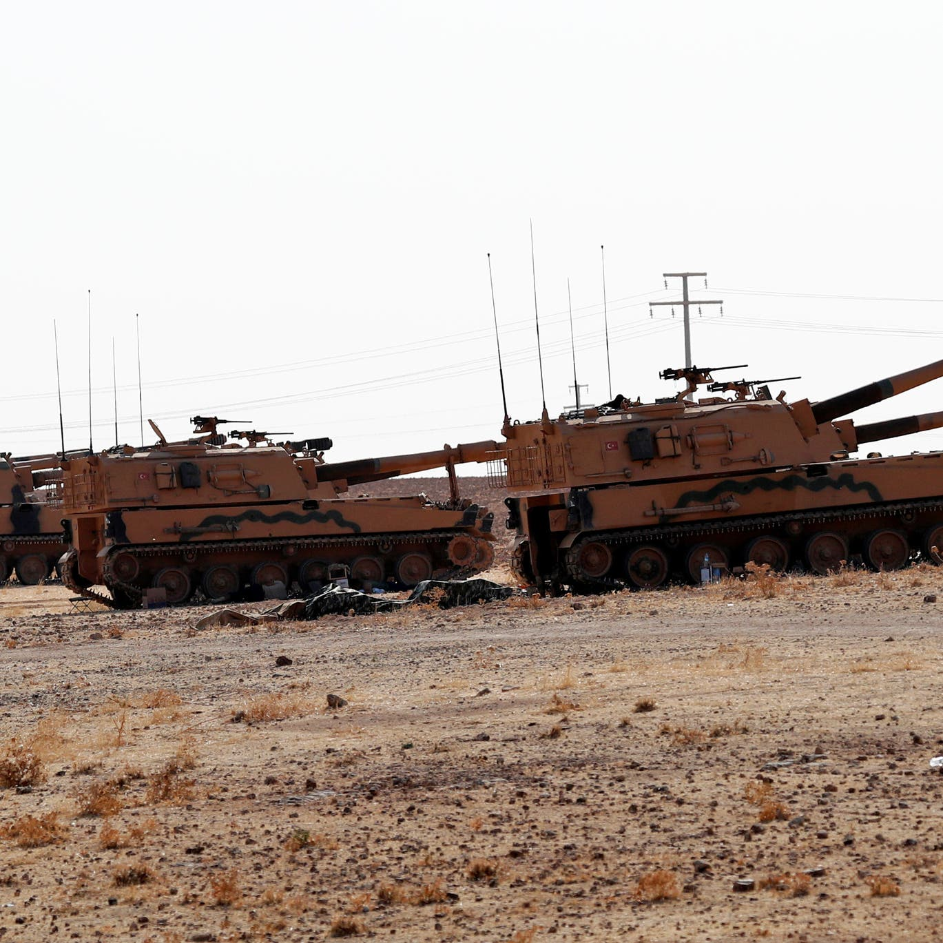سوريا.. تركيا تعلن السيطرة على طريق استراتيجي