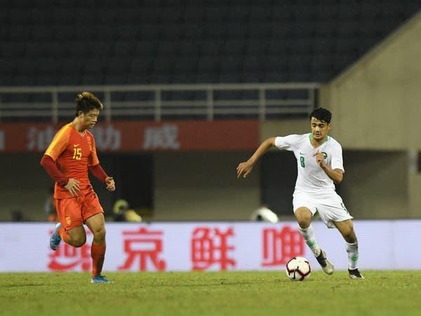 المنتخب السعودي الأولمبي يتعادل مع الصين