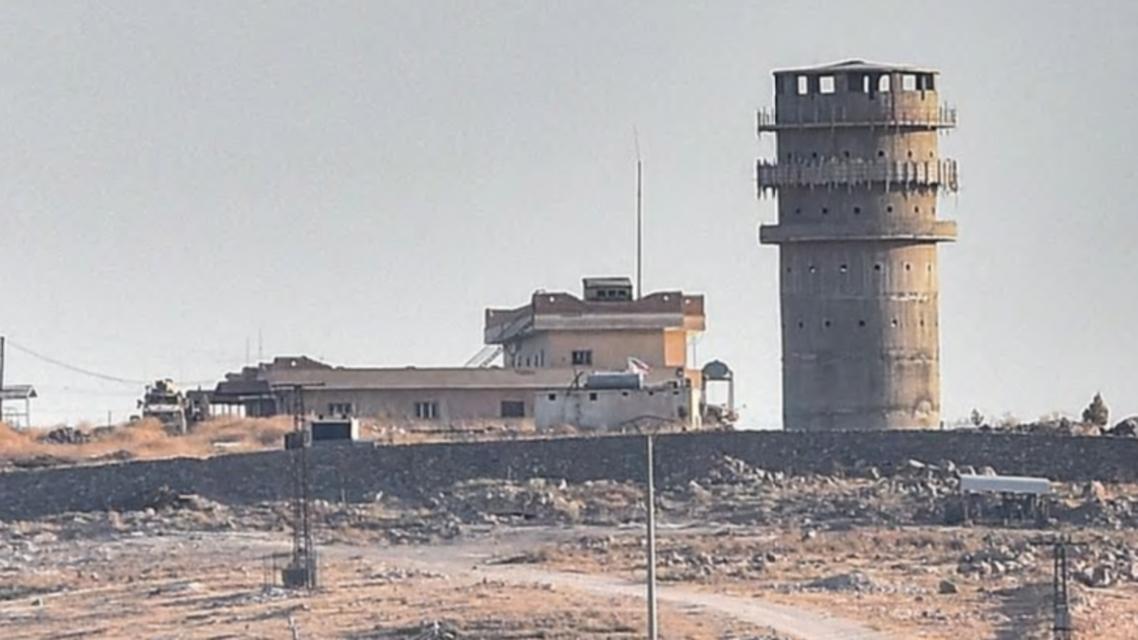 الموقع الاميركي الذي تعرض للقصف التركي