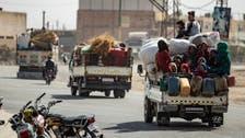 ترک فوج کی شام میں کارروائی سے ایک لاکھ،60 ہزار شہری بے گھر : اقوام متحدہ