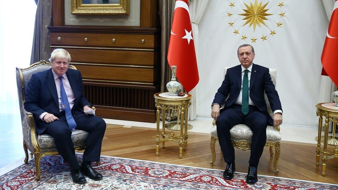 جونسون أردوغان