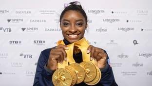 زن ژیمناستیک باز رکورد بهترین مرد مدالآور ژیمناستیک را شکست