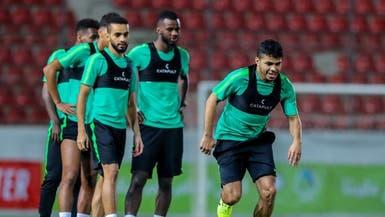 المنتخب السعودي يبدأ تدريباته في رام الله