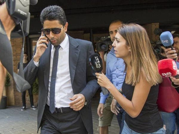 الادعاء السويسري يستجوب ناصر الخليفي وجيروم فالك
