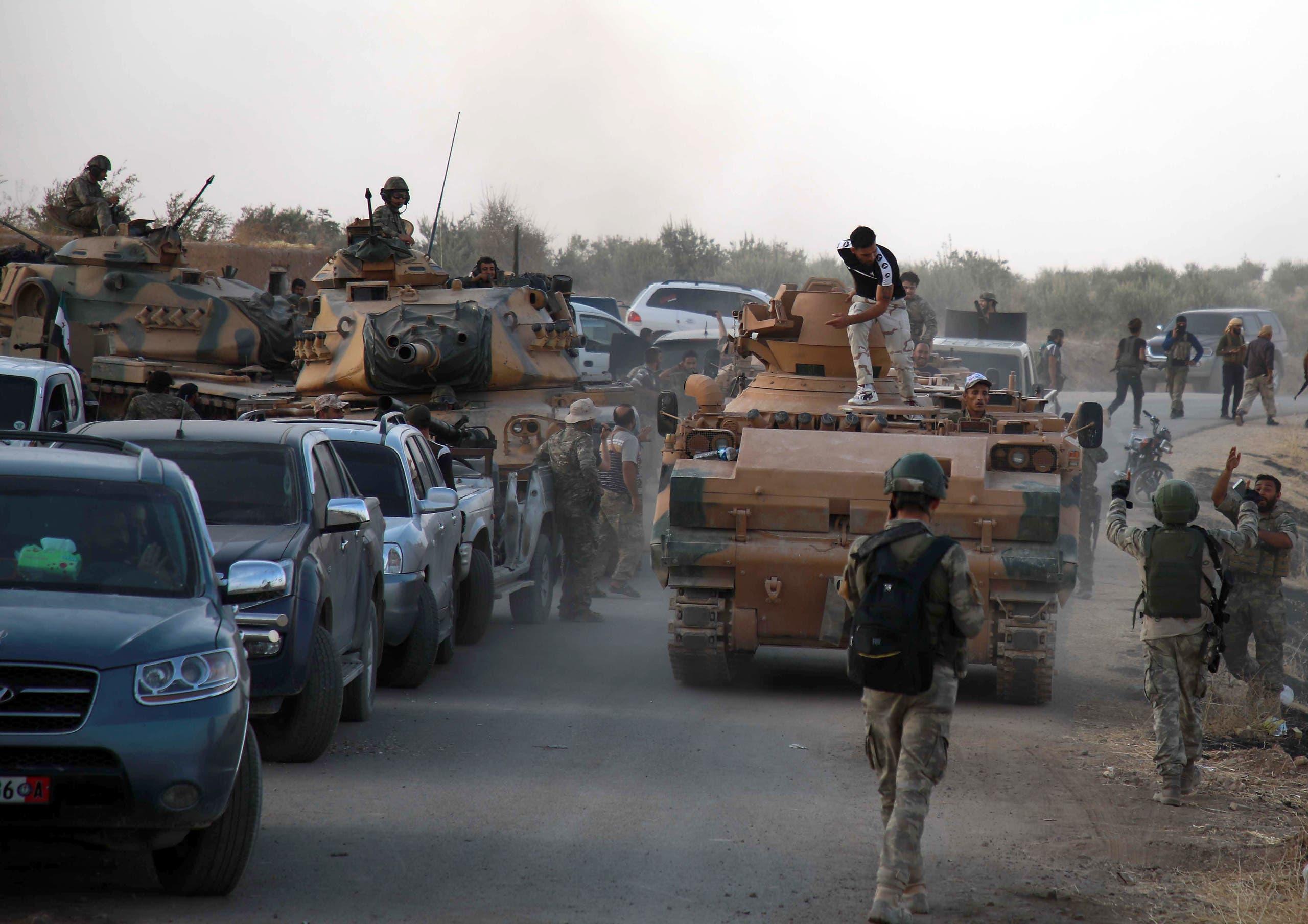 فصائل مسلحة موالية لتركيا شمال سوريا (أرشيفية)