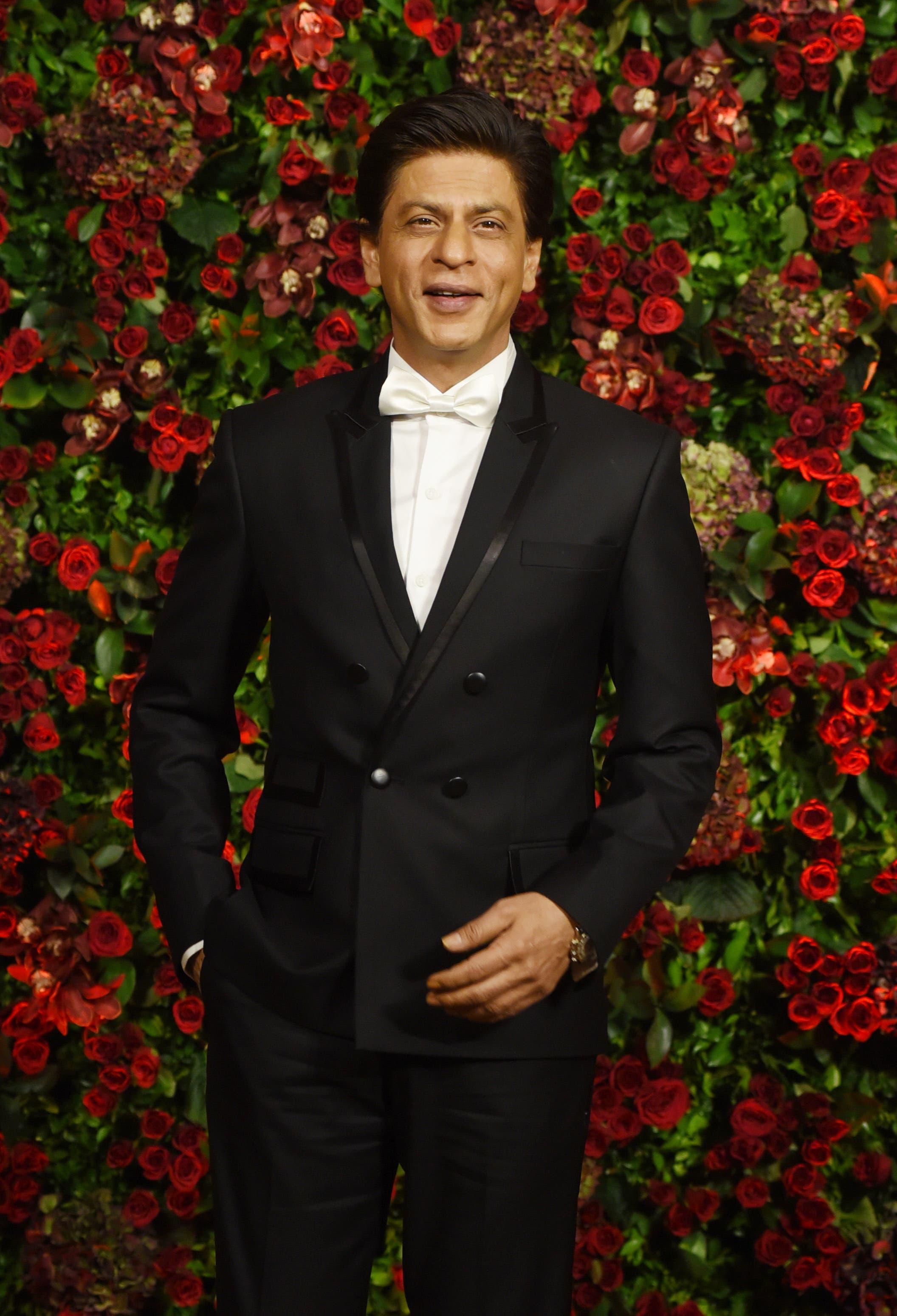 Indian Bollywood actor Shah Rukh Khan. (AFP)